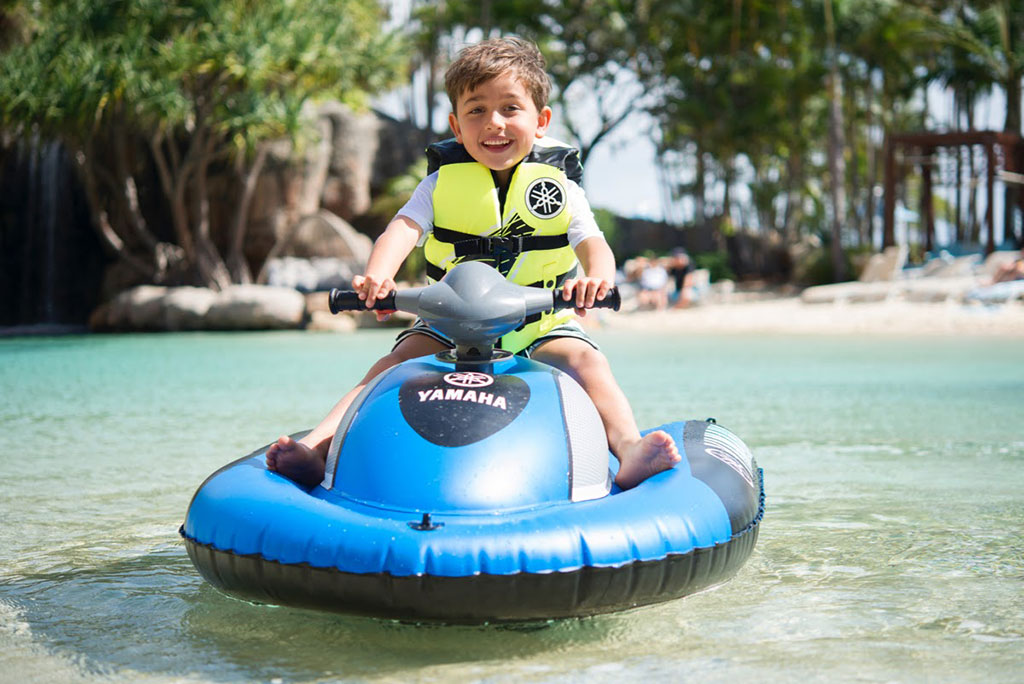Kids inflatable Yamaha Jetskis Hire
