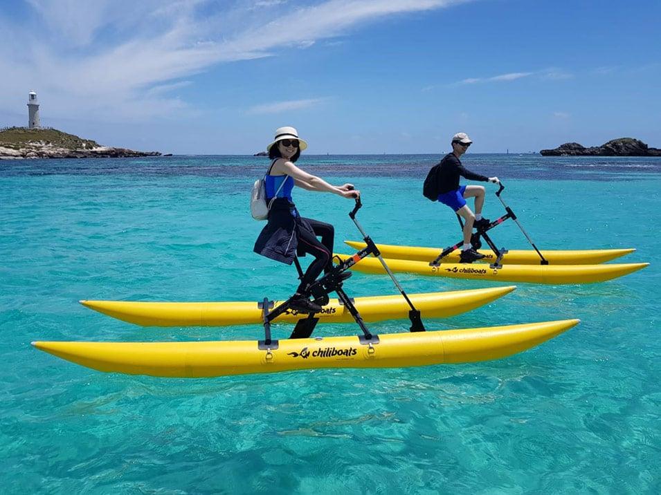 Waterbike tour Rottnest Island Western Australia